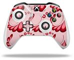 Skin Wrap for Microsoft XBOX One S / X Controller Petals Red