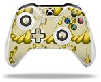 Skin Wrap for Microsoft XBOX One S / X Controller Petals Yellow