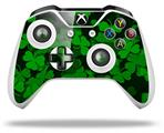 Skin Wrap for Microsoft XBOX One S / X Controller St Patricks Clover Confetti