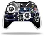 Skin Wrap for Microsoft XBOX One S / X Controller 2010 Camaro RS Blue Dark