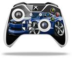 2010 Camaro RS Blue - Decal Style Skin fits Microsoft XBOX One S and One X Wireless Controller
