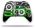 Skin Wrap for Microsoft XBOX One S / X Controller 2010 Camaro RS Green