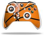 Basketball - Decal Style Skin fits Microsoft XBOX One S and One X Wireless Controller