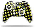 Smileys on Black - Decal Style Skin fits Microsoft XBOX One S and One X Wireless Controller