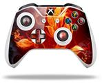 Fire Flower - Decal Style Skin fits Microsoft XBOX One S and One X Wireless Controller