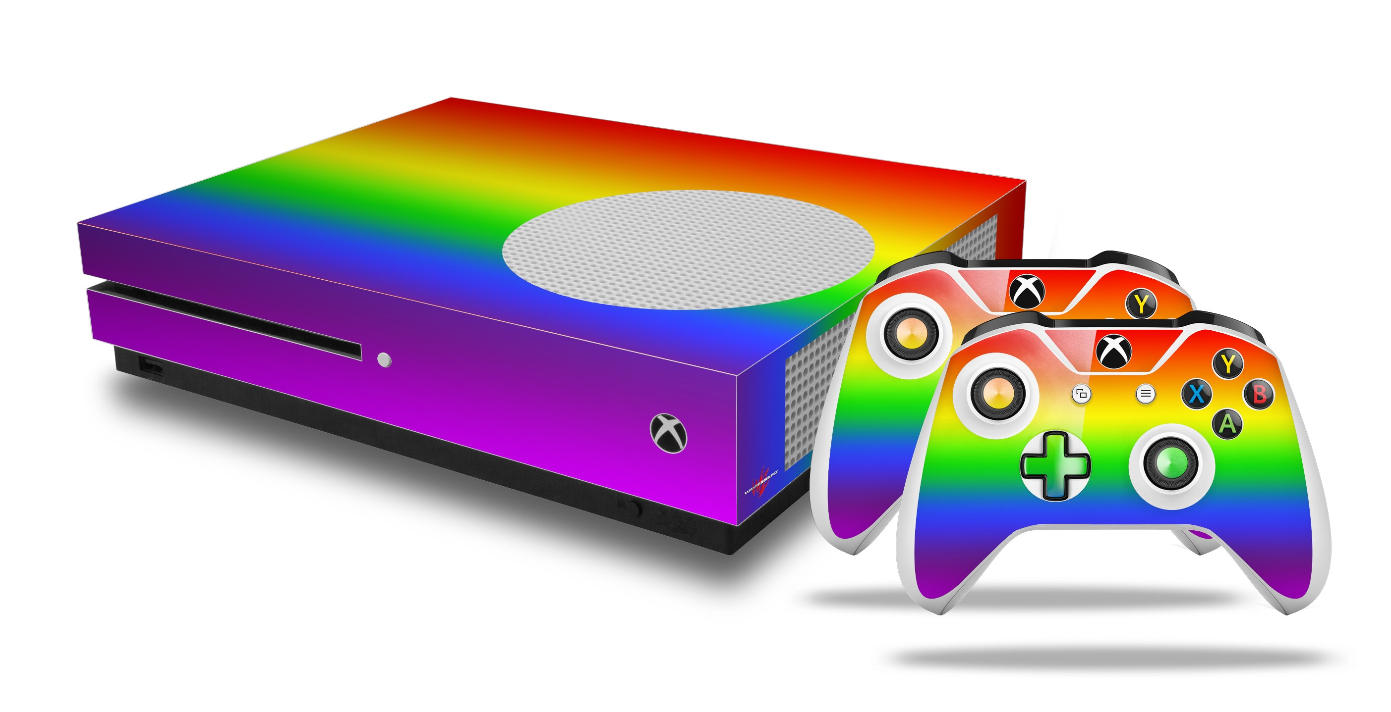 Video Games & Consoles Faceplates, Decals & Stickers Skin Set For Xbox One X Smooth Fades Pink Purple Professional Design