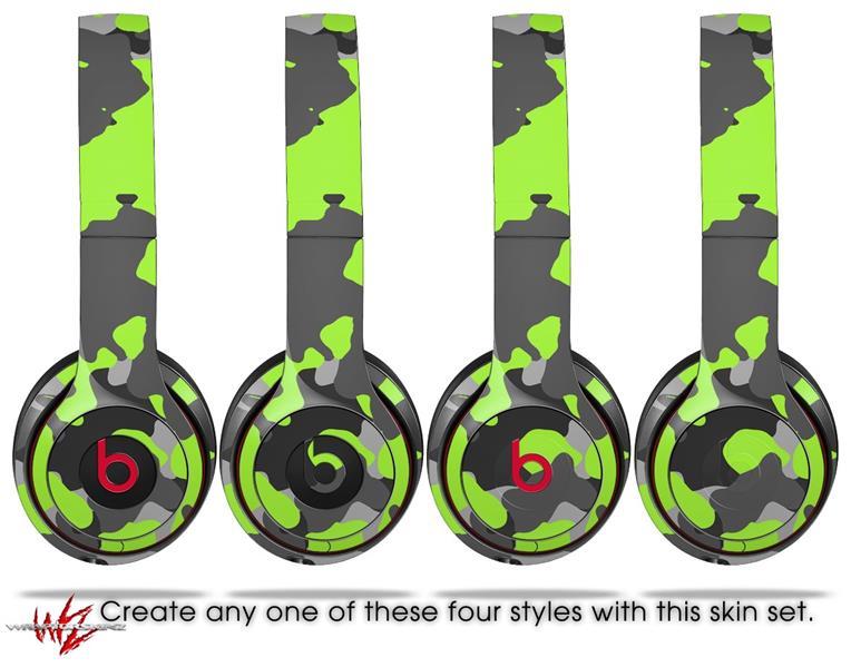 Beats Solo2 Solo3 Wireless Skins Wraptorcamo Old School Camouflage
