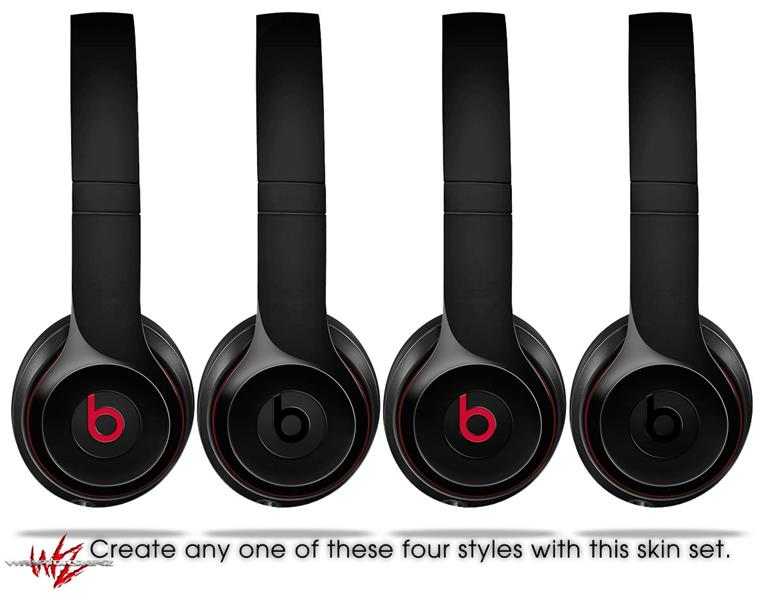 Beats Solo2 - Solo3 Wireless Skins Solids Collection Color