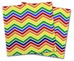 Vinyl Craft Cutter Designer 12x12 Sheets Zig Zag Rainbow - 2 Pack