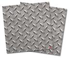 Vinyl Craft Cutter Designer 12x12 Sheets Diamond Plate Metal 02 - 2 Pack