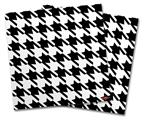 Vinyl Craft Cutter Designer 12x12 Sheets Houndstooth Black and White - 2 Pack