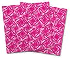 Vinyl Craft Cutter Designer 12x12 Sheets Wavey Fushia Hot Pink - 2 Pack