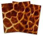 Vinyl Craft Cutter Designer 12x12 Sheets Fractal Fur Giraffe - 2 Pack