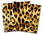 Vinyl Craft Cutter Designer 12x12 Sheets Fractal Fur Leopard - 2 Pack
