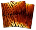 Vinyl Craft Cutter Designer 12x12 Sheets Fractal Fur Tiger - 2 Pack