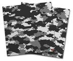 Vinyl Craft Cutter Designer 12x12 Sheets WraptorCamo Digital Camo Gray - 2 Pack