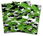 Vinyl Craft Cutter Designer 12x12 Sheets WraptorCamo Digital Camo Green - 2 Pack
