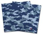 Vinyl Craft Cutter Designer 12x12 Sheets WraptorCamo Digital Camo Navy - 2 Pack