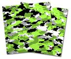 Vinyl Craft Cutter Designer 12x12 Sheets WraptorCamo Digital Camo Neon Green - 2 Pack
