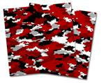 Vinyl Craft Cutter Designer 12x12 Sheets WraptorCamo Digital Camo Red - 2 Pack