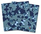Vinyl Craft Cutter Designer 12x12 Sheets WraptorCamo Old School Camouflage Camo Navy - 2 Pack