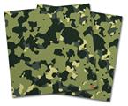 Vinyl Craft Cutter Designer 12x12 Sheets WraptorCamo Old School Camouflage Camo Army - 2 Pack