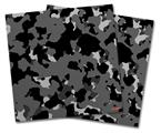 Vinyl Craft Cutter Designer 12x12 Sheets WraptorCamo Old School Camouflage Camo Black - 2 Pack