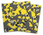Vinyl Craft Cutter Designer 12x12 Sheets WraptorCamo Old School Camouflage Camo Yellow - 2 Pack
