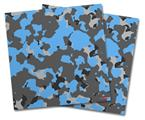 Vinyl Craft Cutter Designer 12x12 Sheets WraptorCamo Old School Camouflage Camo Blue Medium - 2 Pack