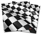 Vinyl Craft Cutter Designer 12x12 Sheets Checkered Racing Flag - 2 Pack