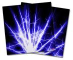 Vinyl Craft Cutter Designer 12x12 Sheets Lightning Blue - 2 Pack