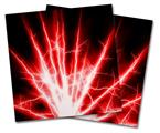 Vinyl Craft Cutter Designer 12x12 Sheets Lightning Red - 2 Pack