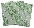 Vinyl Craft Cutter Designer 12x12 Sheets Victorian Design Green - 2 Pack