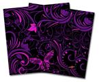 Vinyl Craft Cutter Designer 12x12 Sheets Twisted Garden Purple and Hot Pink - 2 Pack
