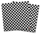 Vinyl Craft Cutter Designer 12x12 Sheets Checkered Canvas Black and White - 2 Pack
