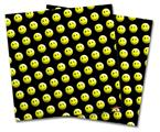 Vinyl Craft Cutter Designer 12x12 Sheets Smileys on Black - 2 Pack