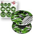 Decal Style Vinyl Skin Wrap 3 Pack for PopSockets WraptorCamo Digital Camo Green (POPSOCKET NOT INCLUDED)
