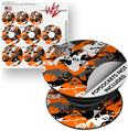 Decal Style Vinyl Skin Wrap 3 Pack for PopSockets Halloween Ghosts (POPSOCKET NOT INCLUDED) by WraptorSkinz