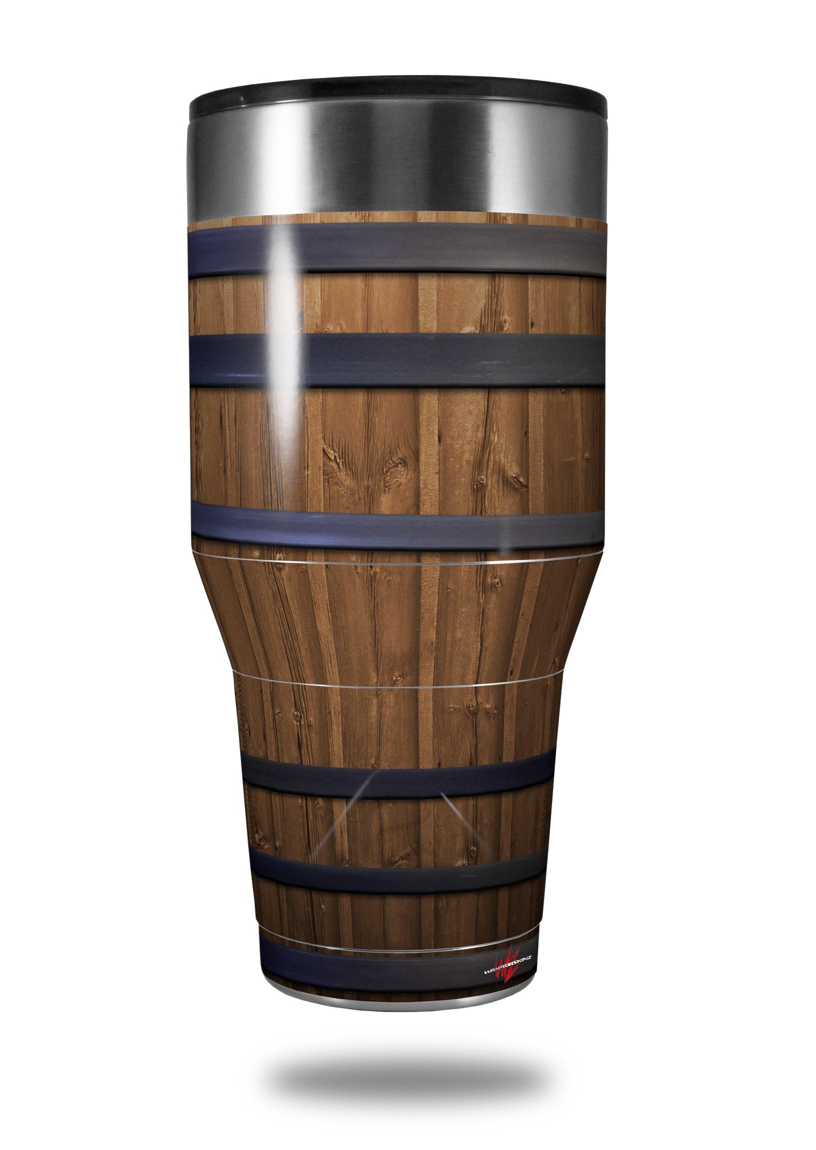 Ozark Trail Tumbler 40oz Skin Wraps Wooden Barrel