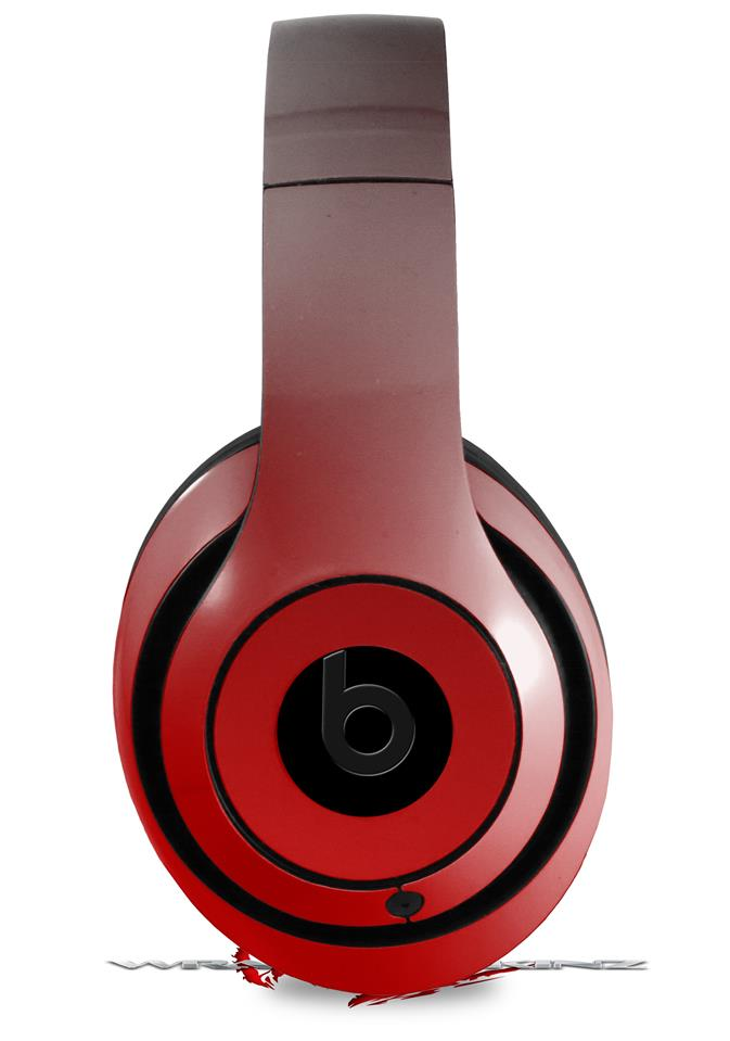 Beats Studio2 Studio3 Skins Smooth Fades Red Black Wraptorskinz