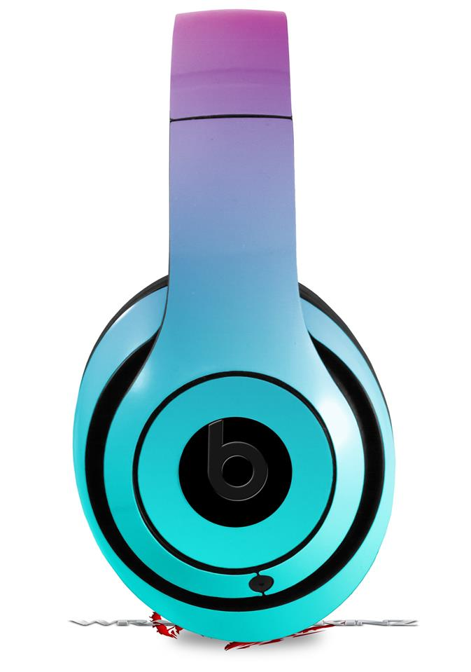 _Beats_Studio2_-_Studio3_skins Smooth Fades Neon Teal Hot Pink ...