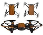 Skin Decal Wrap 2 Pack for DJI Ryze Tello Drone Wood Grain - Oak 01 DRONE NOT INCLUDED