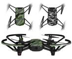 Skin Decal Wrap 2 Pack for DJI Ryze Tello Drone Camouflage Green DRONE NOT INCLUDED