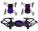 Skin Decal Wrap 2 Pack for DJI Ryze Tello Drone HEX Purple DRONE NOT INCLUDED