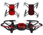 Skin Decal Wrap 2 Pack for DJI Ryze Tello Drone Oriental Dragon Black on Red DRONE NOT INCLUDED