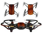 Skin Decal Wrap 2 Pack for DJI Ryze Tello Drone Fractal Fur Tiger DRONE NOT INCLUDED