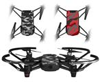 Skin Decal Wrap 2 Pack for DJI Ryze Tello Drone WraptorCamo Digital Camo Gray DRONE NOT INCLUDED