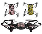 Skin Decal Wrap 2 Pack for DJI Ryze Tello Drone WraptorCamo Digital Camo Pink DRONE NOT INCLUDED