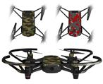Skin Decal Wrap 2 Pack for DJI Ryze Tello Drone WraptorCamo Digital Camo Timber DRONE NOT INCLUDED