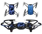 Skin Decal Wrap 2 Pack for DJI Ryze Tello Drone Electrify Blue DRONE NOT INCLUDED
